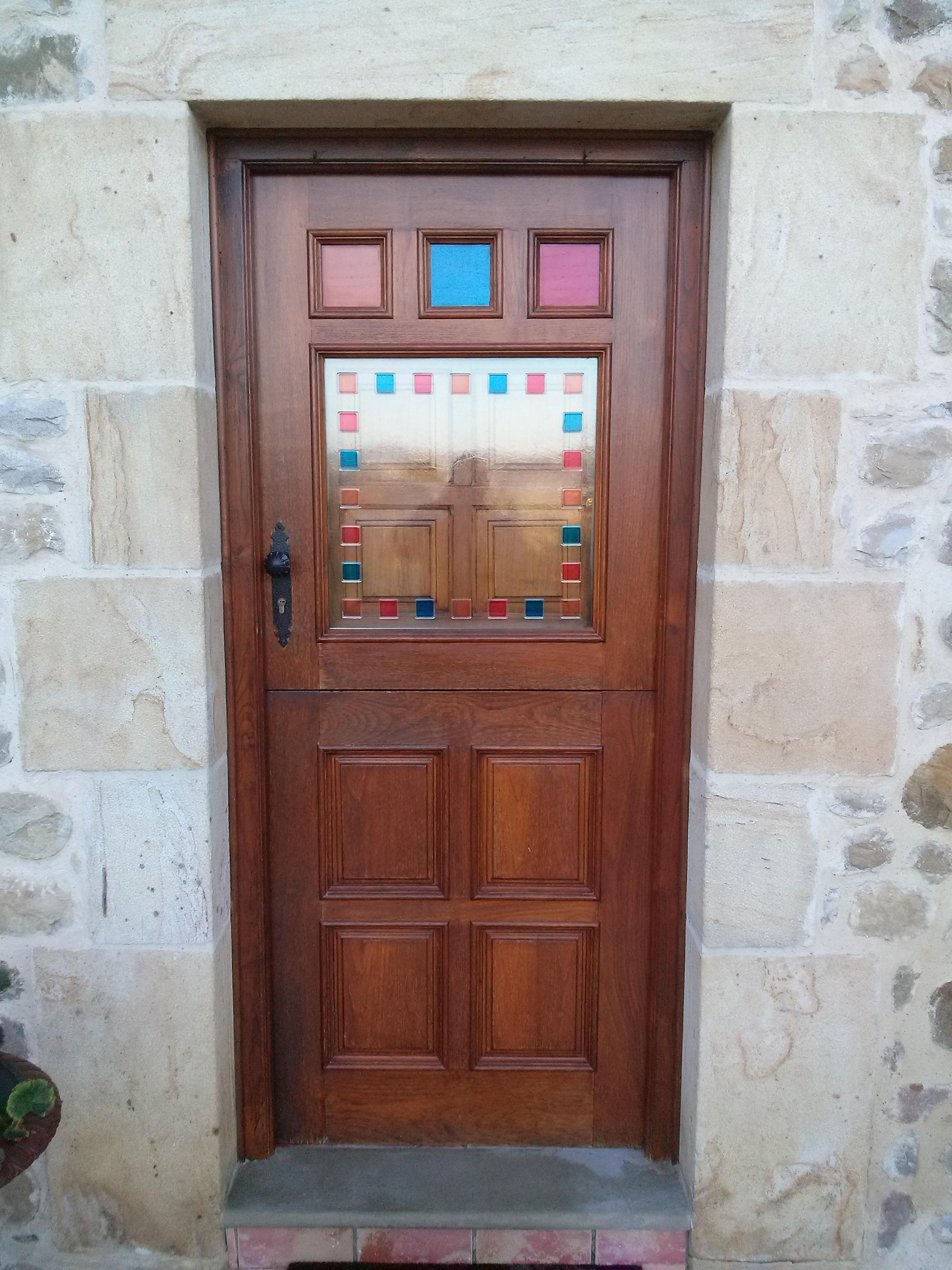 Puertas de entrada de cristal perfect incluso puertas correderas de cristal lacado con cierre - Puertas de entrada con cristal ...