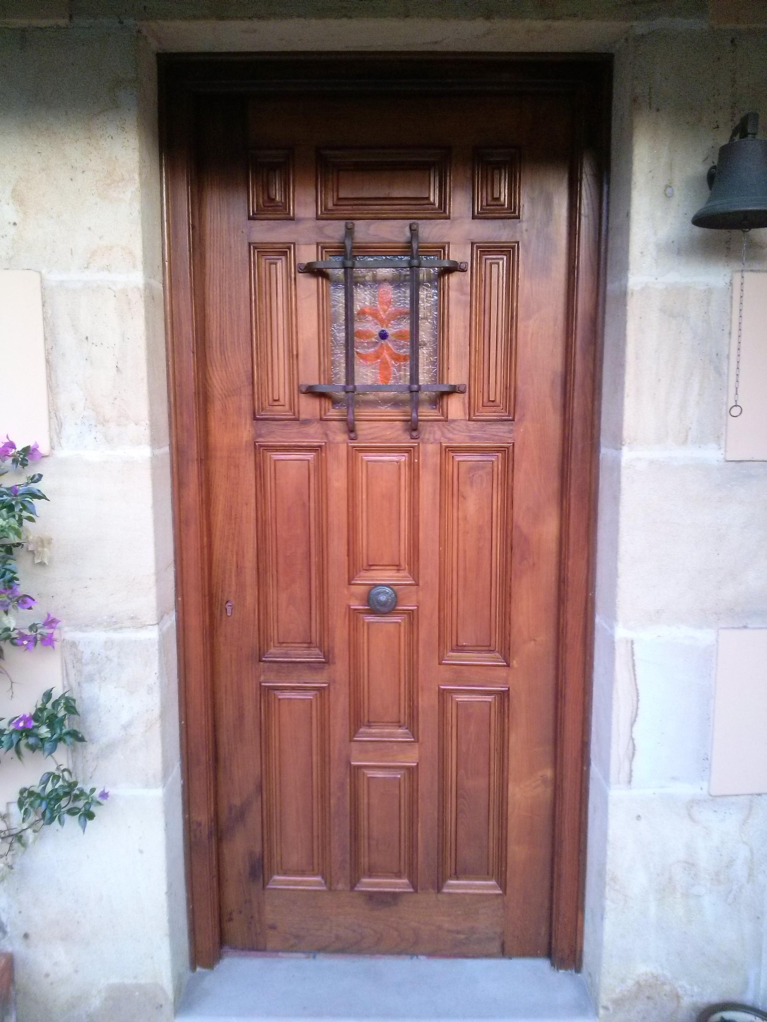 Carpinteria olcar fotos puertas cartes torrelavega - Puertas de reja ...